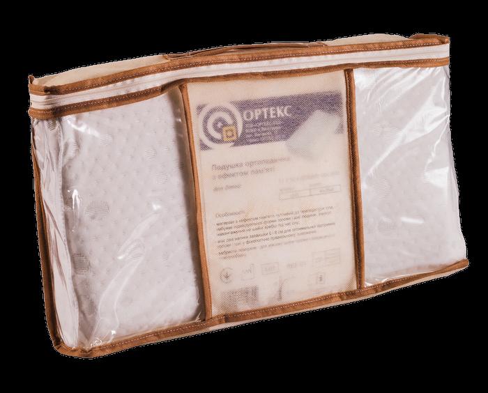 Детская ортопедическая подушка с эффектом памяти ОП-01 (J2501) - 2