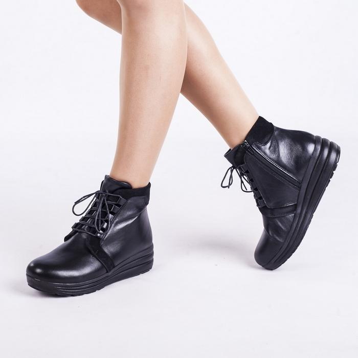 Зимние женские ортопедические ботинки 17-704 - 1