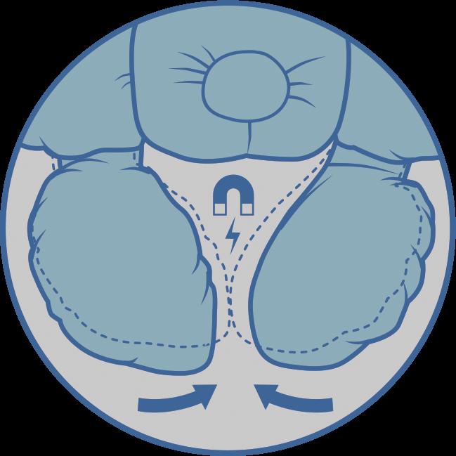 Детская анатомическая подушка для путешествий Travel (арт.J2302Travel) - 6