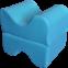 Ортопедическая подушка  под ноги  (J2310) - 2