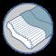 Ортопедическая подушка для взрослых ОП-06 (J2306) - 2