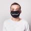 """Многоразовая защитная маска """"Недовольный""""  + 50 фильтров  - 3"""