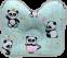 """Подушка для новорожденных """"Бабочка"""" в  коробке ОП-02 - 3"""
