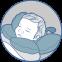 Детская анатомическая подушка для путешествий Travel (арт.J2302Travel) - 7